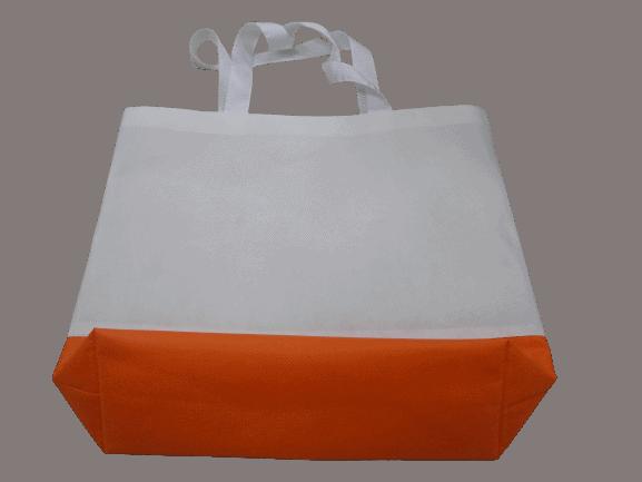 ผลิตกระเป๋าผ้าสปันบอลทูโทน