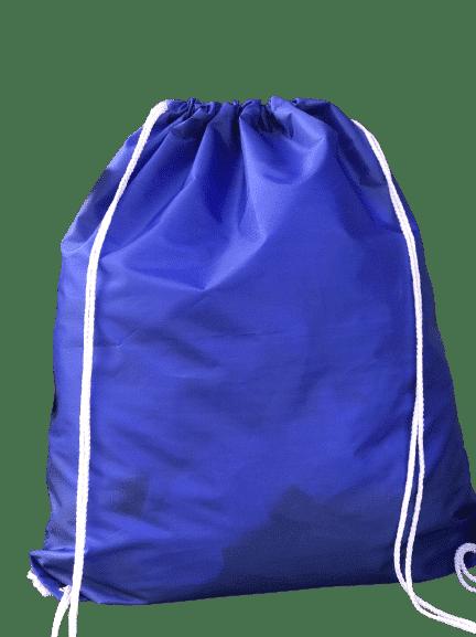 โรงานผลิตถุงผ้า สีน้ำเงิน