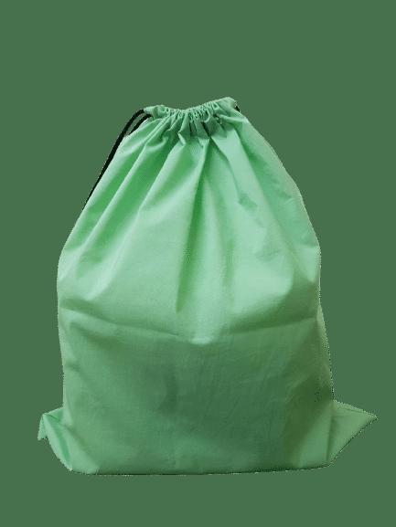 โรงงานผลิตถุงยังชีพ สีเขียว พร้อมสกรีนฟรี 1 สี